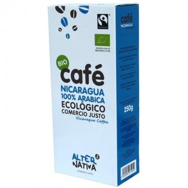 Cafe nicaragua molido ALTERNATIVA 3 (250 gr) BIO