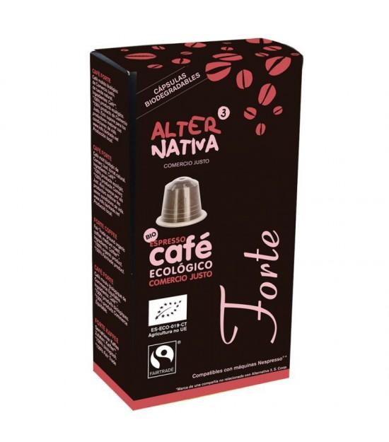 Cafe forte ALTERNATIVA 3 (10 capsulas) BIO