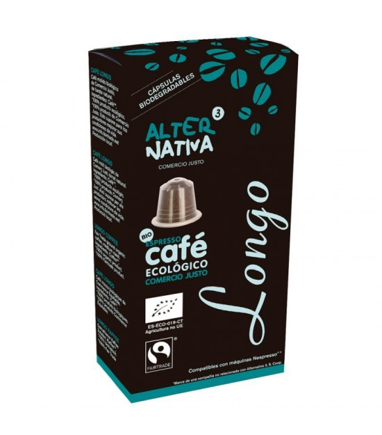 Cafe longo ALTERNATIVA 3 (10 capsulas) BIO