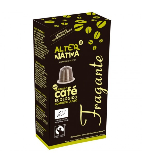 Cafe fragante ALTERNATIVA 3 (10 capsulas) BIO