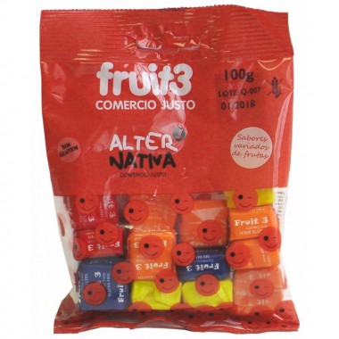 Caramelos sugus fruit 3 ALTERNATIVA 3 (100 gr)