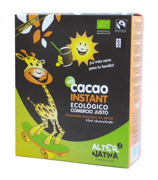 Cacao instant ALTERNATIVA 3 (750 gr) BIO