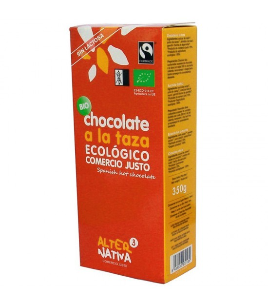 Chocolate a la taza ALTERNATIVA 3 (350 gr) BIO