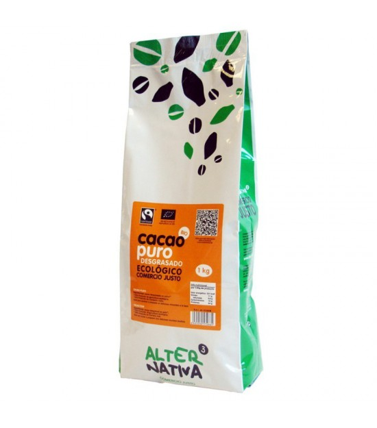 Cacao puro desgrasado ALTERNATIVA 3 (1 kg) BIO