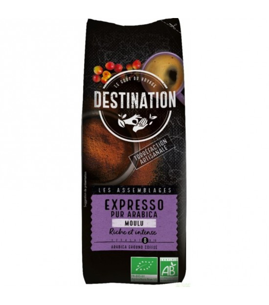 Cafe seleccion 100% arabica molido DESTINATION 250 gr