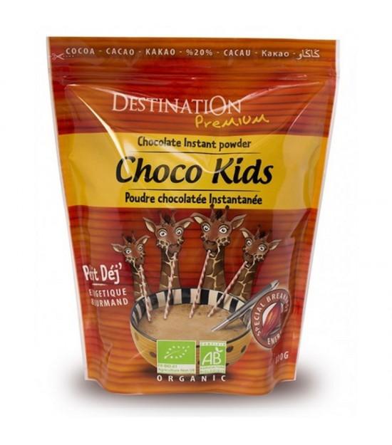 Cacao instant niños 20% DESTINATION 800 gr