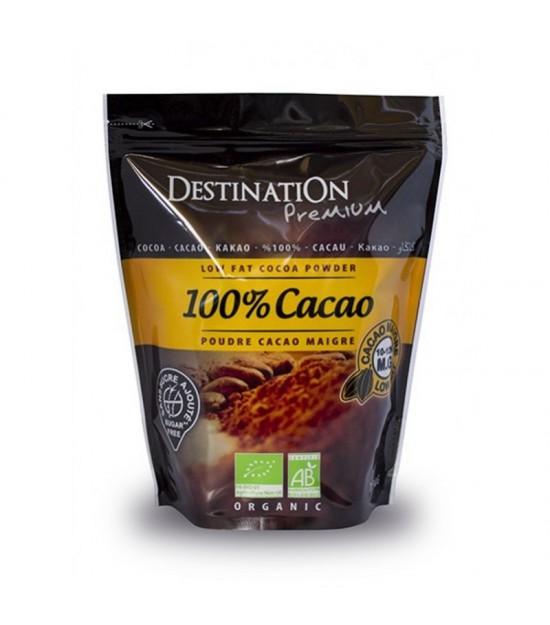 Cacao 100% sin azucar bio DESTINATION 250 gr