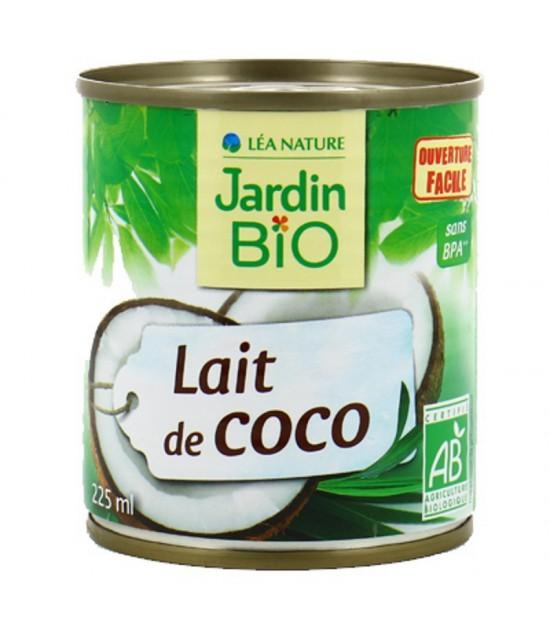 Leche coco JARDIN BIO 225 ml