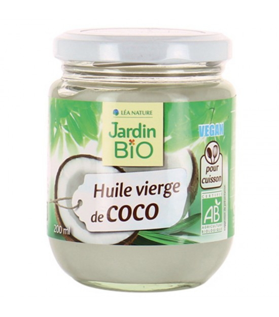 Aceite coco JARDIN BIO 20 cl