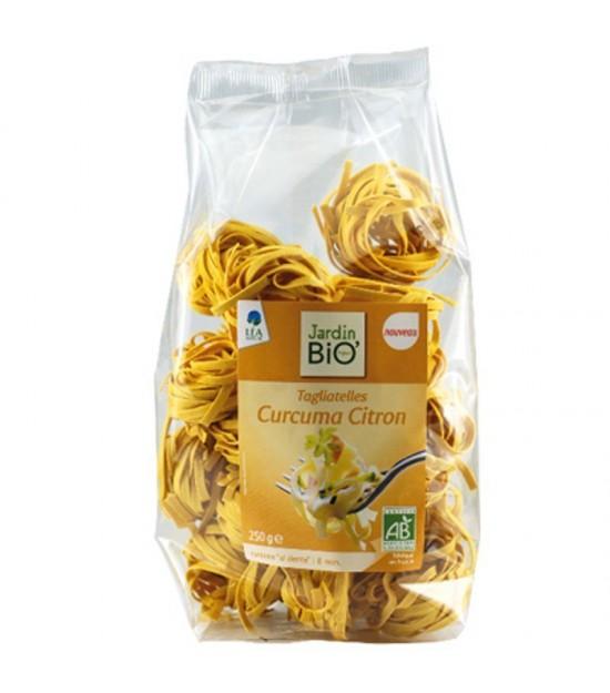 Tallarin limon y curcuma JARDIN BIO 250 gr