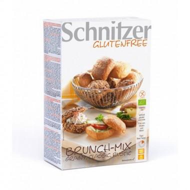 Panecillos mix sin gluten SCHNITZER BIO 2x100 gr