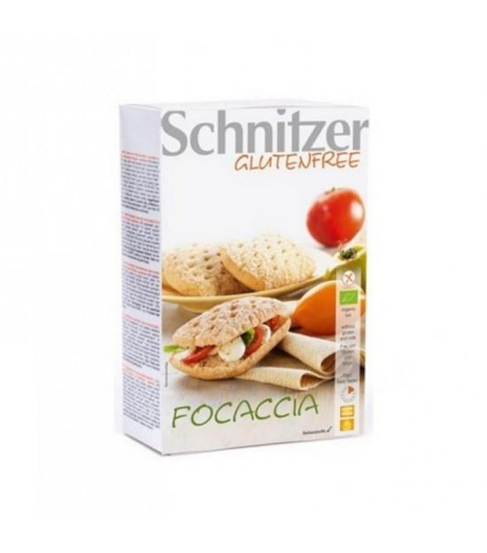 Pan Focaccia maiz con hierbas sin gluten SCHNITZER 2x110 gr BIO