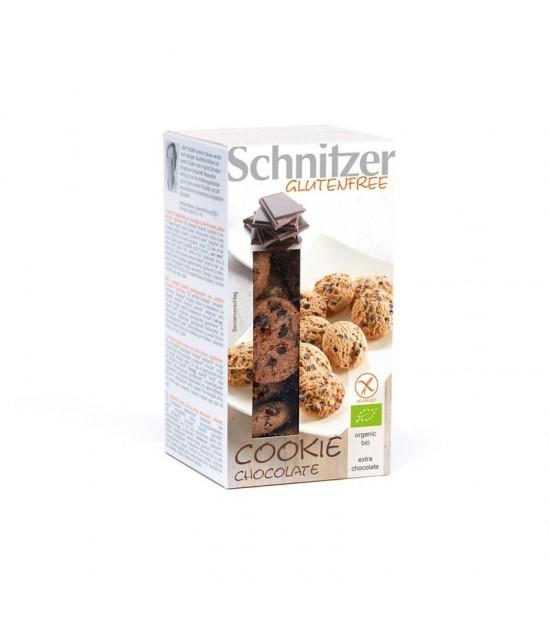 Cookies chocolate sin gluten SCHNITZER 150 gr BIO