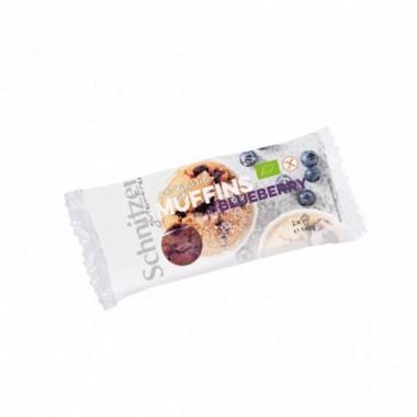 Muffin arandanos sin gluten SCHNITZER 140 gr BIO