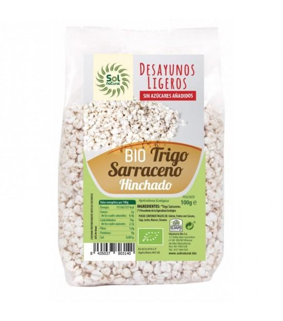 Trigo sarraceno hinchado desayuno SOL NATURAL 100 gr BIO