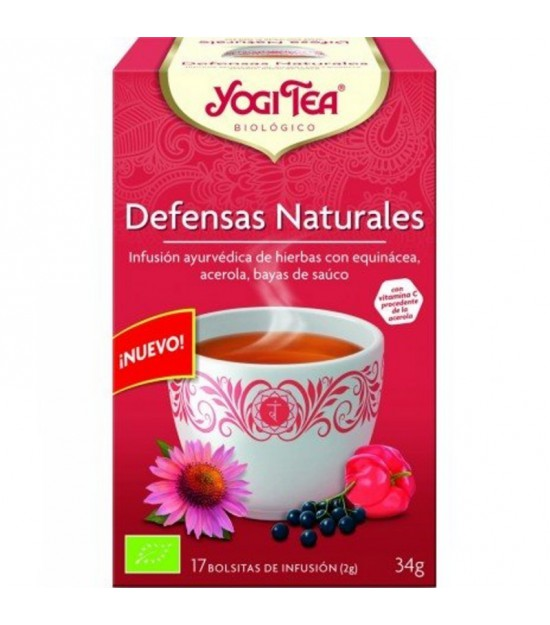 Yogi tea defensas naturales 17 bolsas BIO