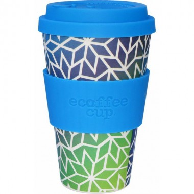 Vaso de bambu stargate (azul verde) Ref.123 ALTERNATIVA 3 (400ml)