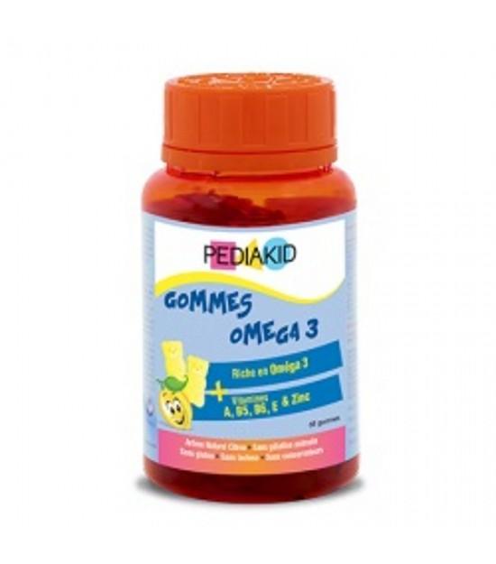 Gominolas omega 3 limon PEDIAKID