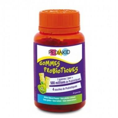 Gominolas probioticos manzana PEDIAKID