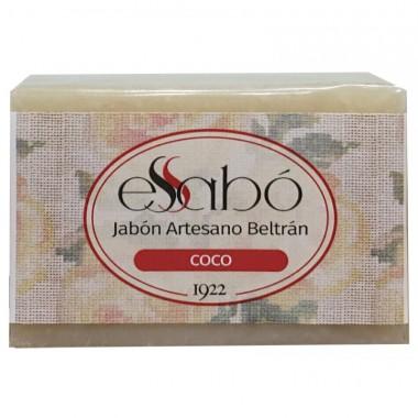 Jabon coco artesano ESSABO 100 gr