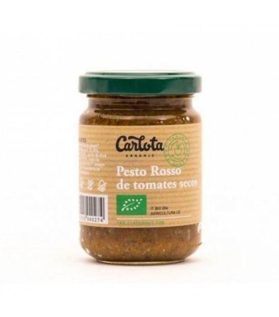 Pesto rojo CARLOTA 140 gr BIO