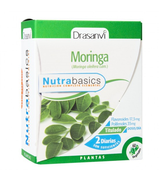 Moringa nutrabasicos DRASANVI 60 capsulas