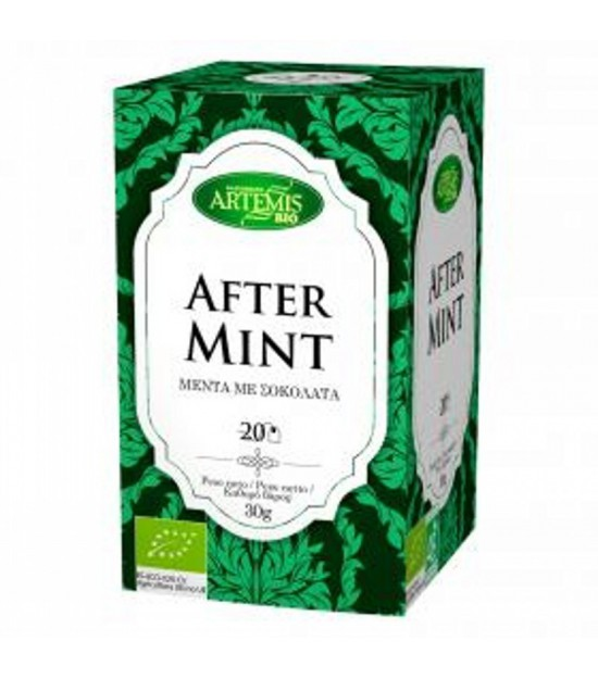 Infusion te aftermint (20 filtros) ARTEMIS 30 gr