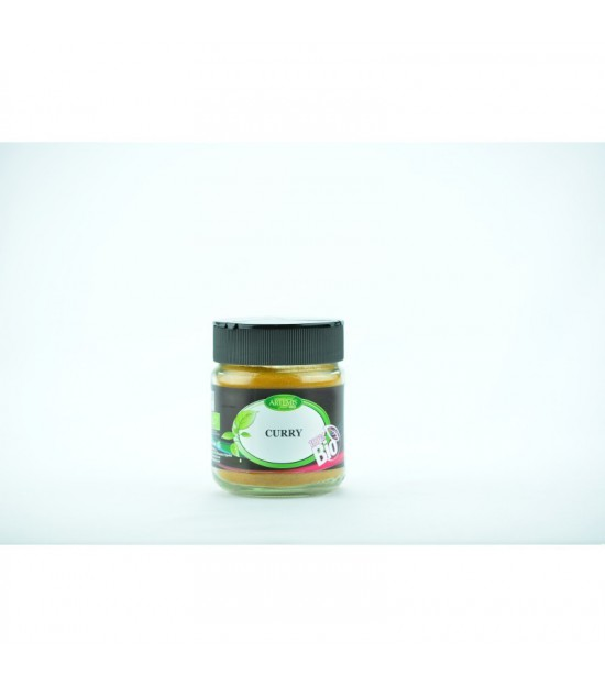 Curry especias ARTEMIS 80 gr BIO