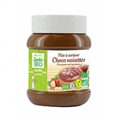 Crema chocolate avellana sin gluten JARDIN BIO 350 gr