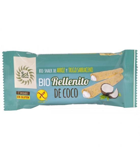 Rellenito coco sin gluten SOL NATURAL 25 gr BIO