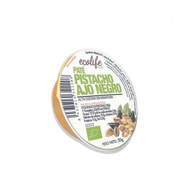 Pate pistacho y ajo negro ECOLIFE 50 gr BIO