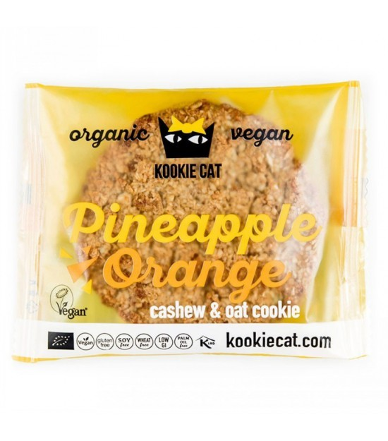 Galleta piña naranja KOOKIE CAT 50 gr BIO