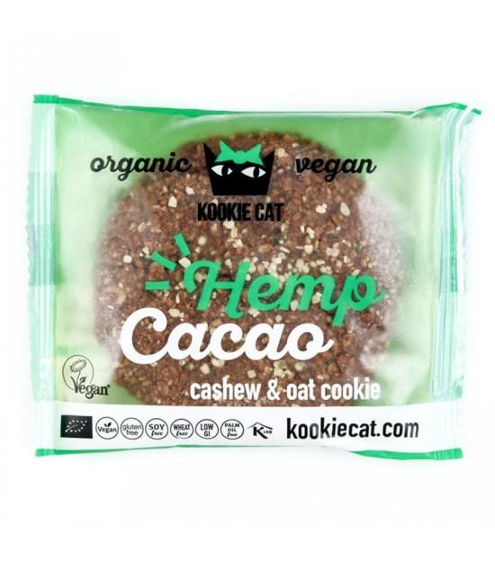 Galleta cacao cañamo KOOKIE CAT 50 gr BIO