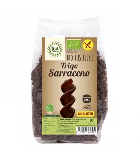 Espiral trigo sarraceno sin gluten SOL NATURAL 250 gr BIO
