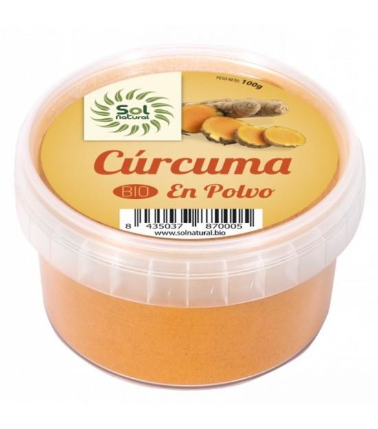 Curcuma en polvo SOL NATURAL 100 gr BIO