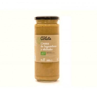 Crema legumbres shiitake CARLOTA 450 gr BIO