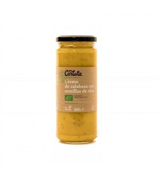 Crema calabaza semilla chia CARLOTA 450 gr BIO