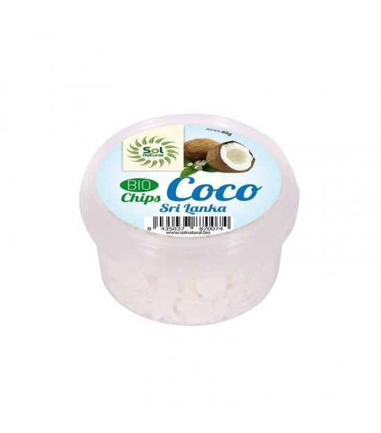Chips coco Sri Lanka SOL NATURAL 60 gr BIO