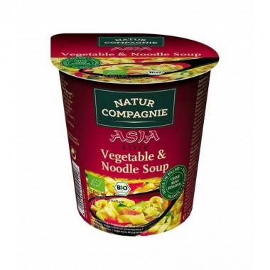 Yatecomo asia noodles con verduras 55 gr NATUR COMPAGNE BIO