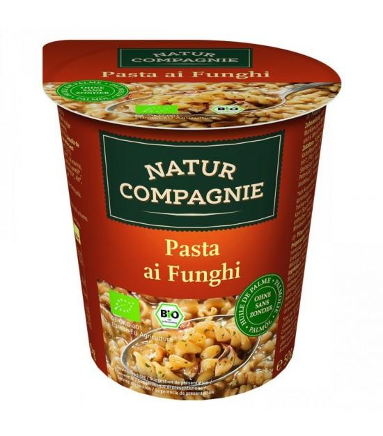 Yatecomo pasta con setas 50 gr NATUR COMPAGNE BIO