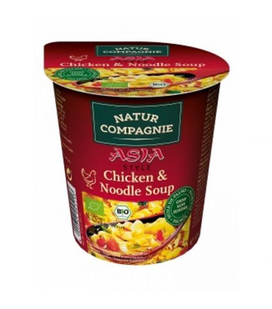Yatecomo asia noodles pollo NATUR COMPAGNE 55 gr BIO
