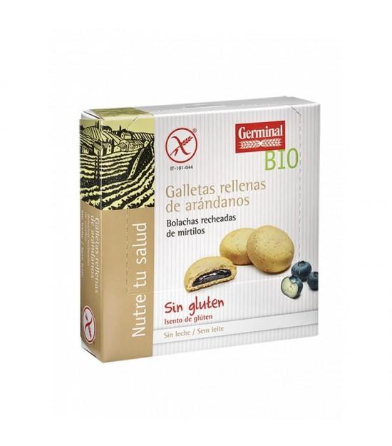 Galletas rellenas arandano GERMINAL 200 gr BIO