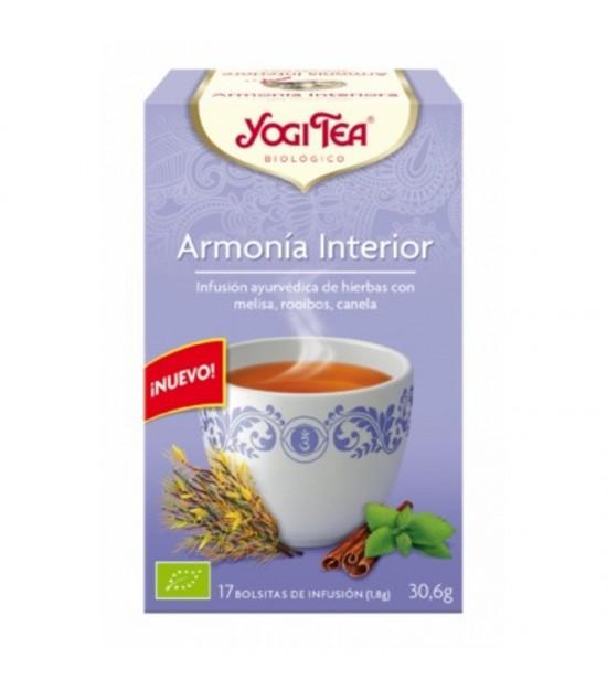 Yogi tea infusion armonia interior 17 bolsas BIO