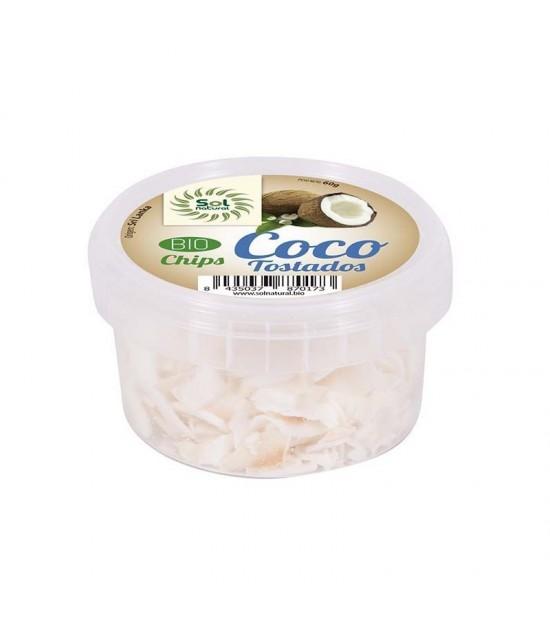 Chips coco tostados Sri Lanka SOL NATURAL 60 gr BIO
