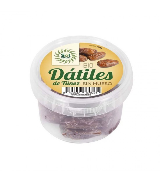 Datiles sin hueso SOL NATURAL 150 gr BIO