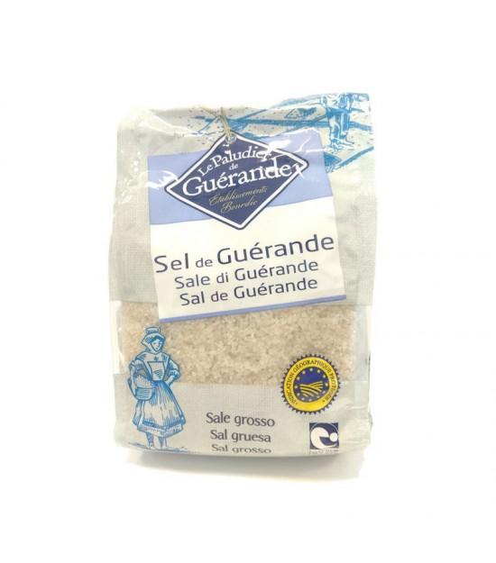 Sal gruesa gris GUERANDE 1 kg BIO