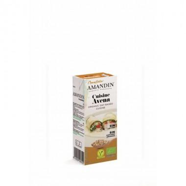Crema cuisine avena AMANDIN 200 ml
