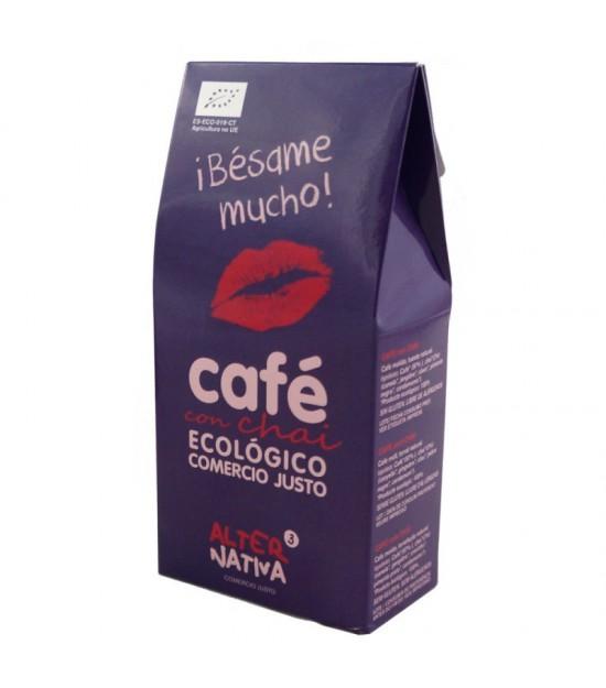 Cafe chai molido ALTERNATIVA 3 125 gr BIO ¡Besame mucho!
