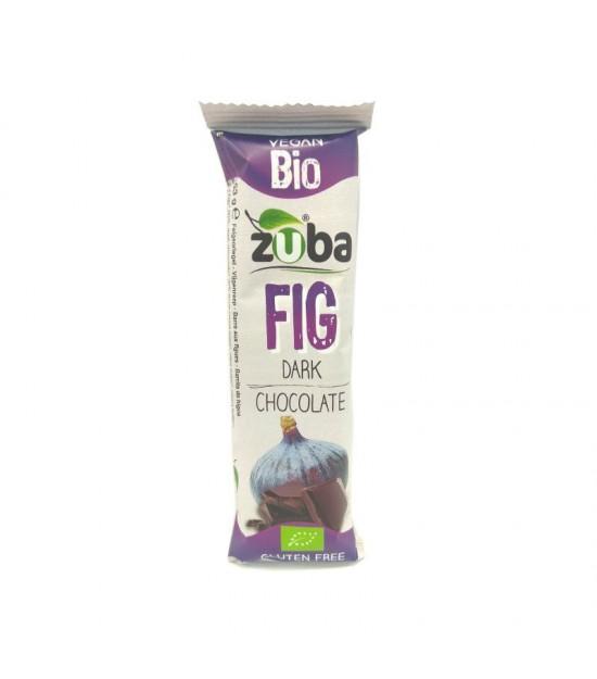 Barrita higo chocolate negro ZUBA 53 gr