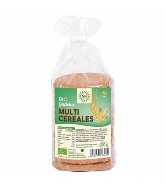 Galleta multicereal SOL NATURAL 250 gr